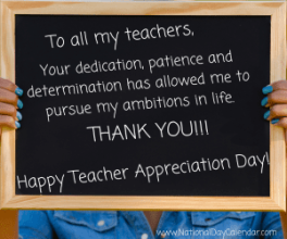 Teacher-Appreciation-Day courtesy of National Day Calendar for Carl Buhler article
