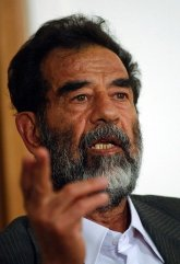 Saddam picture for Carl Buhler article